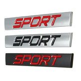 Car Sticker Rear Fender Emblem Badge Metal Sport for Jetta Golf Polo