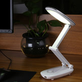 Portable LED Table Desk Lamp USB Rechargeable Foldable Eye Care Light
