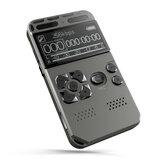 Gravador de voz digital ativado Bakeey 502 Ditafone Áudio Som Digital Professional PCM MP3 Player de música Suporte Cartão TF