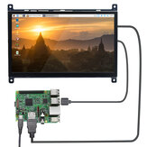 Raspberry Pi 4B LCD Tela de toque capacitiva de 7 polegadas HDMI HD Display USB sem unidade de 1024 × 600PX IPS