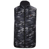 Electric Heated Waistcoat Jacket USB Warm Up Heating Cloth Winter Body Warmer Camouflage