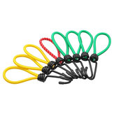 8Pcs 6mm*15cm Heavy Bungee Stretch Cord Camping Hiking Tent Elastic Rope Waterproof Canopy Rope Nail Fixed Hook For Boating