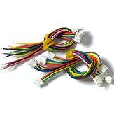 15CM GH1.25MM 2P / 3P / 4P / 5P / 6P Terminale Cavo Cavo con serratura Spina singola / doppia per RC Drone Batteria