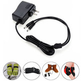 1.2A 220V 7.4V 2In1 Lithium Battery Charger Plug For Electric Gloves/Shoes/Socks