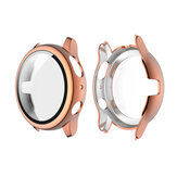 Placa ENKAY PC Watch Caso Tampa + Protetor de Tela Anti-arranhões de Vidro Temperado 9H para Galaxy Watch Samsung Active 2 40mm