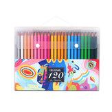 72/120/160 színek olaj színű ólom ceruzaszett kézzel festett graffiti színező ceruza írószer iskolai művészeti rajz kellékek színes ceruzák felnőtt színezéshez