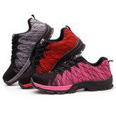 ErkekNefesKaymazAşınmayaDayanıklıÇalışma Spor Güvenlik Emek Anti-Smashing Sneakers Ayakkabı