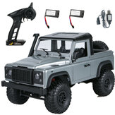 MN99s A RTR Model with 2/3 Batteria 1/12 2.4G 4WD RC Car for Land Rover Vehicles Indoor Toys