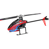 XK K130 2.4G 6CH Brushless 3D6G System Flybarless RC Helicopter BNF Compatible with FUTABA' S-FHSS