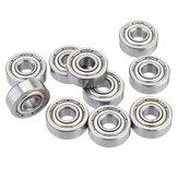 10pcs 605-ZZ 5x14x5mm Rodamientos rígidos de bolas Rodamiento de bolas en miniatura