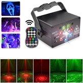 Sonido 8W Active Proyector LED RGB Láser Luz de escenario DJ Disco KTV Show Lighting