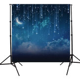 10x10FT Sky Star River Moon Ночная съемка Studio Vinyl Background Backdrop