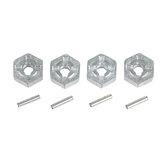 XLF Hexagon Hexagon Conector c / eixo óptico para peças de carro RC sem escova X03 X04 1,18 * 0,5 cm