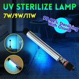 7W-11W UVC Озон UV Blue-ray Germicidal Лампа Трубка Стерилизатор Дезинфекционный свет Лампа UVC Germicidal Лампа Стерилизатор