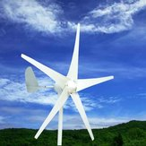 400W Wind Turbine Wind Generator DC 12V/24V 5 Blades with windmill Charge Controller
