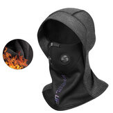 WHEEL UP 2-in-1 Bike Head Sjaal Universeel Gezichtsmasker Ademend Winddicht Waterdicht Winter Warm Fleece Hoofddop