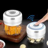 Mini picadora de ajo eléctrica, picadora de alimentos, pequeño procesador de alimentos portátil, pimienta, ajo, chile, vegetales, nueces, picadora, molinillo para cocina herramienta