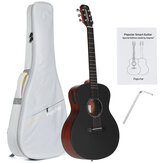 Poputar T1 36 Inch Smart Guitar with Free App Controlled LED Light Bluetooth 5.0BLE Connect for Everyone