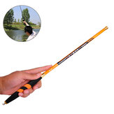 ZANLURE 3.4-3.6m Full Carbon Fibre Ultra-light Ultra Hard Telescopic Fishing Rod Portable Saltwater Fishing Pole