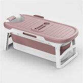 1.36m Portable Foldable Bathtub Barrel Children Baby Bath Basin Swim Tub Sauna Bathtub