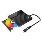 BlitzWolf®BW-VD2 Zewnętrzny napęd Blu-Ray DVD Odtwarzacz 3D 4K USB3.0 + Porty typu C dla WIN / MAC