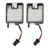 2PCS 18LED Car Side Mirror Puddle Lamp Decoration Lights for Ford Mondeo MK4 IV 07-2014