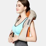 Heat Deep Kneading Infrared Massager U Shape Electrical Shiatsu Massage Back Neck Shoulder Body at Car/Home Infrared Massagem