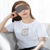Baseus Rewashable Steam Eye Mask Adjustable Eye Mask Patches Comfortable Blindfold for Travel Shift Work Night Sleeping Nap