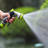 Water Pistol Garden Hose Pipe Nozzle Head Grip Gardening Soft Handle 8 Pattern Water Nozzle Watering Cleaning Tool