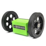 Contador de la rueda del balanceo del contador de teñido de la impresión de la materia textil Mecánico contador longitud