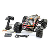 JLB 2.4G Racing CHEETAH 1/10 borstelloze RC Car Truck 80A Trucks 11101 RTR met batterij