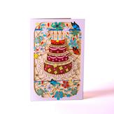 Cartes de voeux créatives 3D Vintage Carte de décoration de cadeau d'anniversaire Carte de voeux
