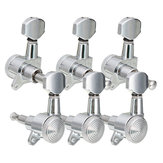 6Pcs Guitar String Tuning Pegs Locking Tuners Keys Machine Heads Set