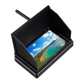 5.8G 48CH 4.3 Zoll LCD 480x272 16: 9 NTSC / PAL FPV Monitor Auto-Suche mit OSD Build-in Batterie