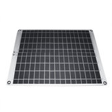 Painel solar do silicone 12V / 5V 20W Monocrystalline com grampo de jacaré