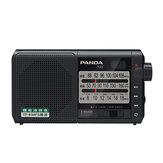 Panda T-01 Radyo FM AM SW Üç Band Radyo Taşınabilir Retro Yarıiletken Radyo