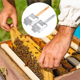 Stainless Steel Bee Hive Uncapping Honey Forks Scraper Handle Beekeeping Tools