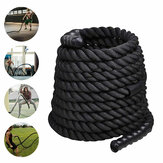 9M Lengte Fitness Battle Rope Heavy Jump Rope Weighted Battle Springtouwen Retainer Gym Oefeningstools