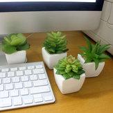 Symulacja Mini roślina Mała doniczkowa Cztery kolory Opcjonalne