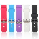 Sports Silicona Reloj Banda Correa para Pebble Time Samsung Galaxy R380 Reloj inteligente