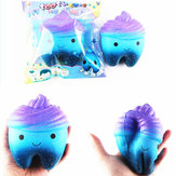 Sanqi Elan 11.8cm Звезда Cute Teeth Cake Soft Squishy Super Slow Rising Original Packing Kid Toy