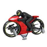 Zdalny latający motocykl 2.4G Mini wykonane z diodowym powietrzem / trybem lądowania Podwójny tryb bezgłowy RC Quadcopter