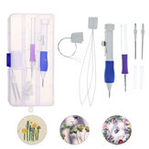 Magic Embroidery Pen Punch Naald Set Borduurpatronen Punch Naald Kit Breien Naaien DIY Tool