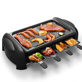 LIVEN KL-J4300 Electric Grill 1200W Knob Control Five Gear Speeds Non-stick Coating Barbecue from Xiaomi Ecological Chain