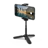 BlitzWolf® BW-BS0 Mini Desktop Multi-angle Tripod هاتف Holder Portable Selfie Monopod for هاتف الة تصوير LED ضوء