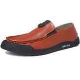 Férfi tiszta színű alkalmi Soft Vezető gyaloglócipők