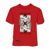 FPV Yarış Drone için TCMMRC L / 2XL / 3XL / 5XL Kırmızı Çizgi Film T-shirt