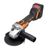 Topshak TS-AG2 1600W Borstelloze accu-haakse slijper Hoog vermogen met 2 accu's voor snijden Polijsten Slijpen