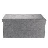Льняное хранилище Османское складное сиденье, стул, скамейка, сундук, игрушка Коробка, скамейка с пуфом