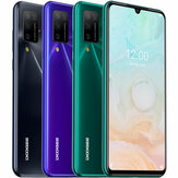 DOOGEE N20 Pro Global Version 6,3 tommer FHD + Waterdrop Display Android 10 4400mAh 16MP Quad Bagkamera 6 GB 128 GB Helio P60 Octa Core 4G Smartphone